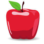 Apple illustration — Vector de stock