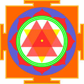 Shri Durga-Yantra — Fotografia Stock
