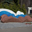 Tomb of Boris Yeltsin — Stock Photo