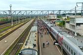 Svir železniční stanice — Stock fotografie