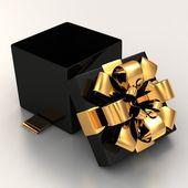 Gift box isolated — Stock Photo