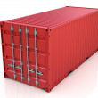 Red freight container — Stock Photo #11532773