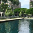 Outside State Capitol, Honolulu — Stock Photo