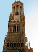 Belfry Tower In Bruges — Stock Photo