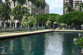 Outside State Capitol, Honolulu — Stock Photo