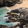 Here To Eternity, Halona Beach Cove, Hawaii - Stock Photo