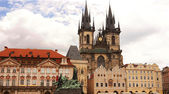 Old Town Square, Prague, Czech Republic — Stock Photo