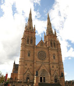 Cathédrale de st. marys, sydney, australie — Photo