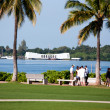 Stock Photo: ArizonMemorial, Pearl Harbor