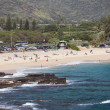 Stock Photo: Sandy Beach, Oahu, Hawaii
