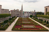 Jardin du mont des arts, bruxelles, belgio — Foto Stock