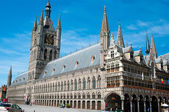 The Cloth Hall of Ypres, Belgium — Stock Photo