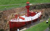 Boat in Dry Dock — Stock Photo