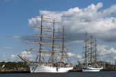 Tall ships — Stock Photo
