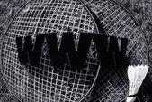Www badminton — Stockfoto