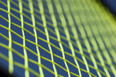 Tennis racket net — Stock Photo