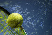 Tennis memory — Stock Photo