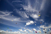 Kites All Over — Stock Photo