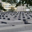 Holocaust monument in Berlin — Foto de Stock