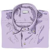 Une chemise — Vecteur