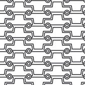 многие автомобили — Cтоковый вектор