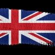 Brushstroke Flag Union Jack — Foto Stock
