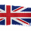 Stock Photo: Brushstroke Flag Union Jack