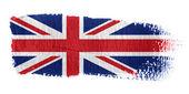 Brushstroke bandeira estrelada — Foto Stock