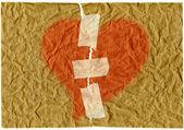 Utrpení srdce — Stock fotografie