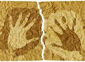 Handprints — Stock Photo