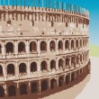Colosseum - Stock Vector