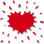 A heart — Stock Vector