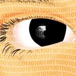 Digital Eye — Stock Vector