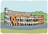 Colosseum — Stock Vector