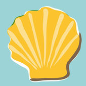 Shell background — Stock Vector