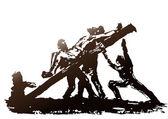 Crucifixion — Stock Vector