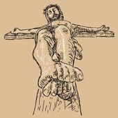 Crucifixion — Vecteur