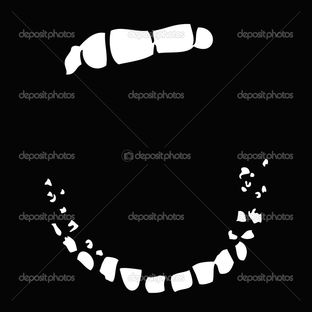 Mouth wide open — Stock Vector #11318135