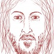 Face of Jesus — Stock Photo #11588009