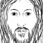 Face of Jesus — Stock Photo #11588015