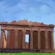 Greek temple — Stock Photo #11588984
