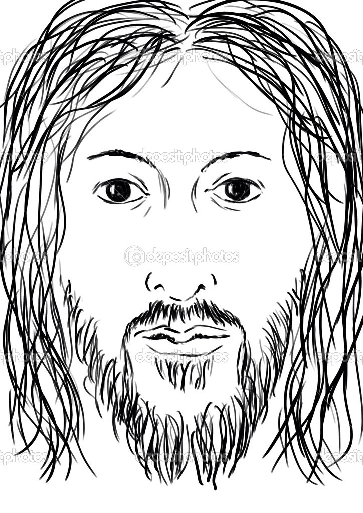 Face of Jesus — Stock Photo #11588015