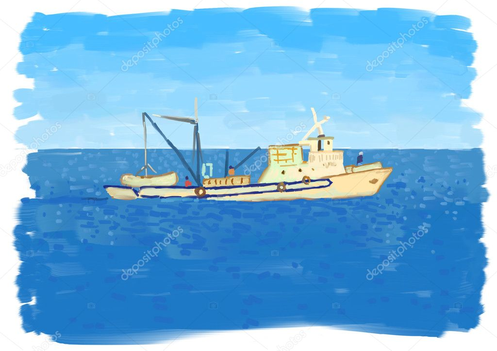 Fishing boat — Stock Photo #11589134