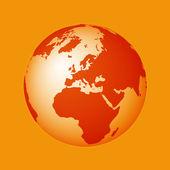 Мировой земной шар — Cтоковый вектор