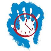 Arrêter le temps — Vecteur