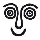 Hypnotic mask — Stock Vector