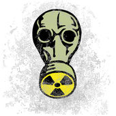 Nuclear nightmare — Stock Vector