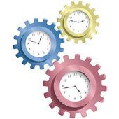 Engranaje & relojes — Vector de stock