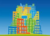 New city — Stock Vector