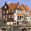 Dutch houses — Stock Photo #11851676
